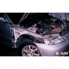 Боковые усилители лонжеронов Honda Civic ES 1.7 / 2.0