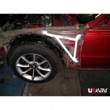 Боковые усилители лонжеронов Honda Prelude BB1