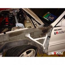 Боковые усилители лонжеронов Mitsubishi Galant VR4 (1992)