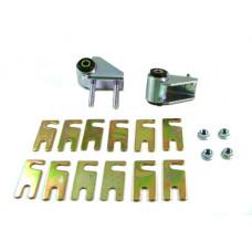 Втулки, пластины и кронштейн с регулировкой развала верхнего рычага W51375