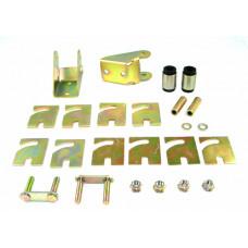 Втулки, пластины и кронштейн с регулировкой развала верхнего рычага W51827